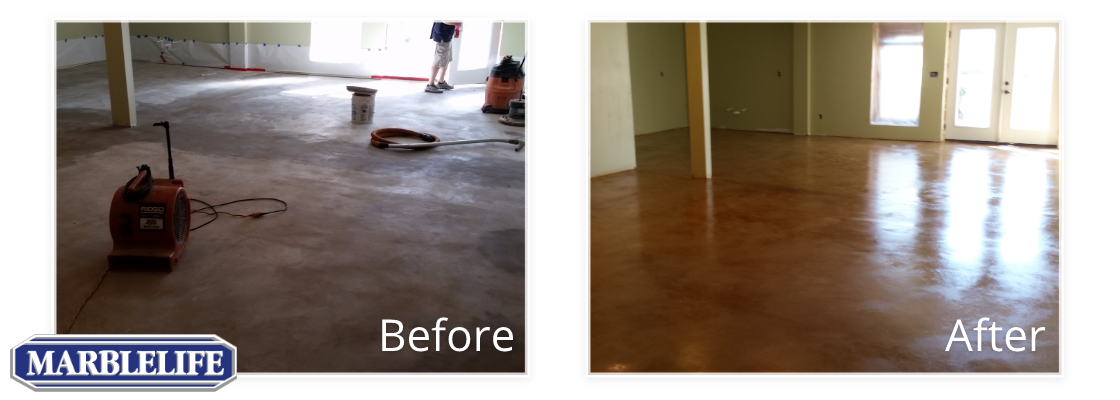 Concrete Before & After - 2