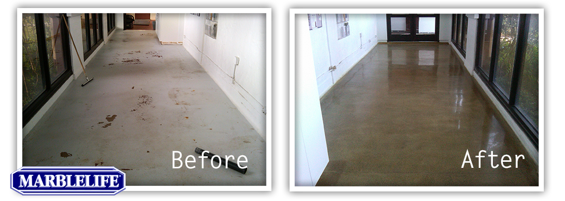 Concrete Restoration Before and After