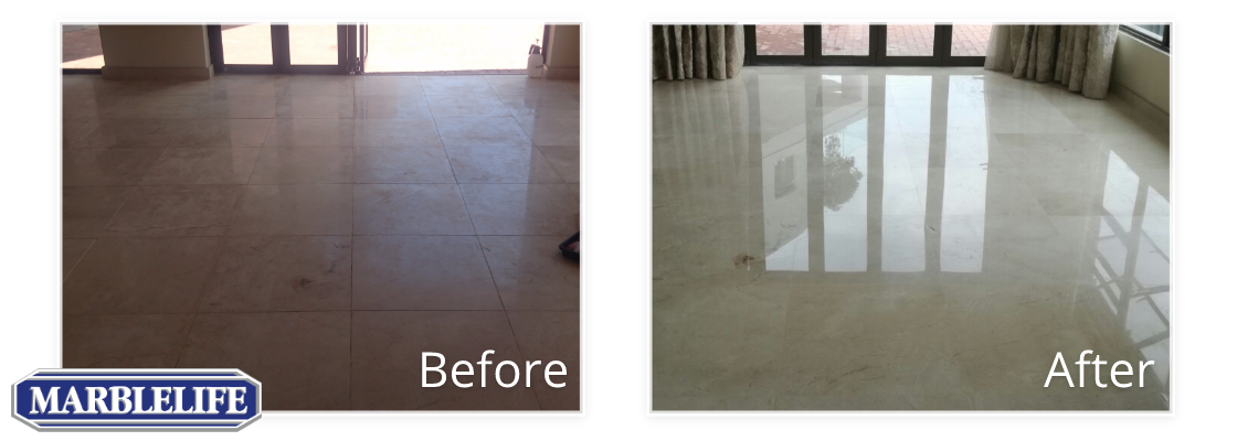Marble Before & After - 0