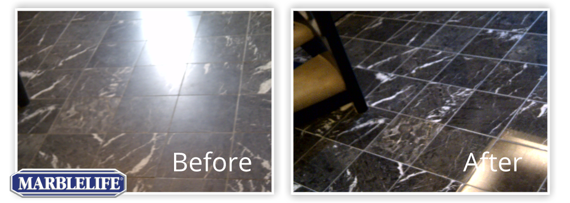Marble Before & After - 2
