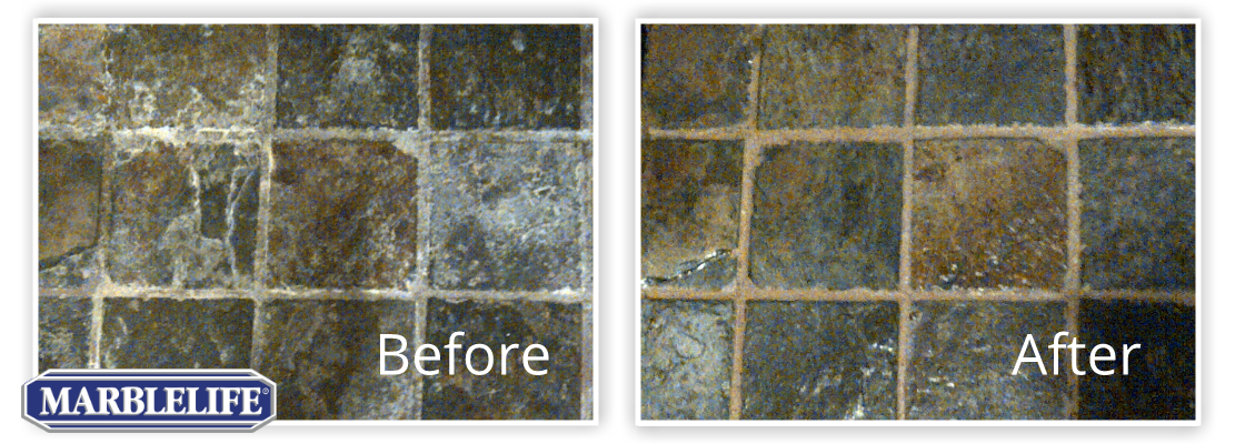 Stone Before & After - 1