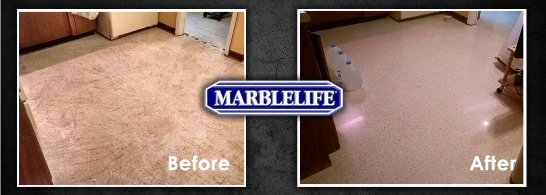Terrazzo Before & After - 1