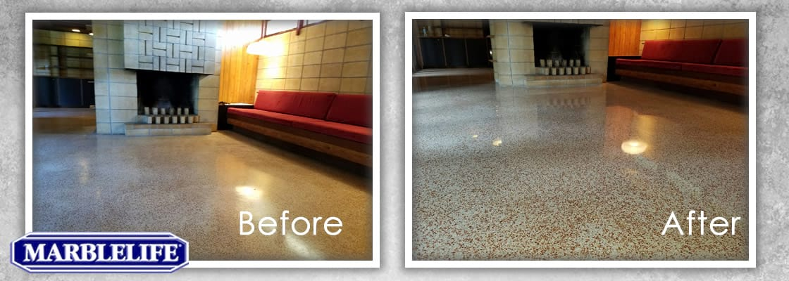 Terrazzo Before & After - 2