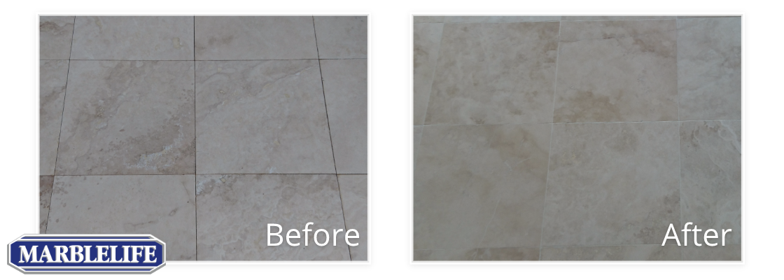 Tile Before & After - 2