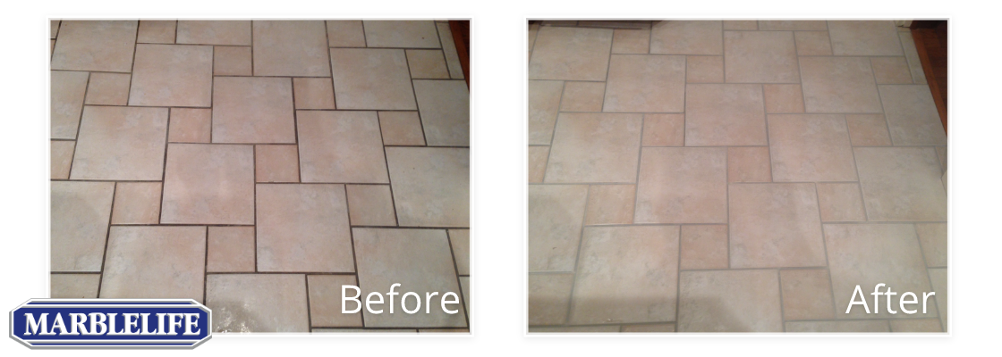 Tile Before & After - 1